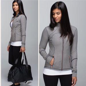 Lululemon Striped Forme II Jacket